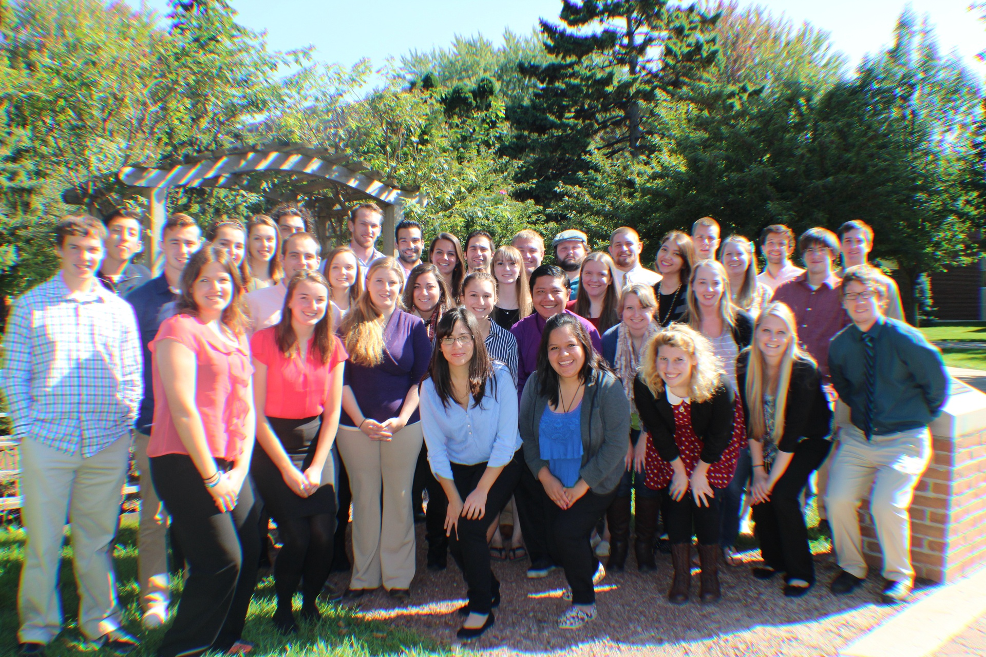 Fall 2014 Discoveries International Team